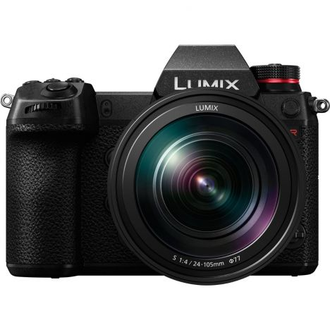 PANASONIC LUMIX S1R Mirrorless Digital Camera with 24-105mm Macro Lens