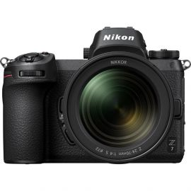 Nikon Z 7 w/ Nikkor Z 24-70mm f/4 S Lens - Full Frame Mirrorless Camera