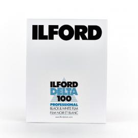"Ilford Delta 100 4"" x 5"" 25 Sheet Film"