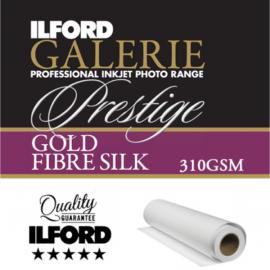 "Ilford Inkjet Photo Galerie Prestige Gold Fibre Silk 17"" ROLL"