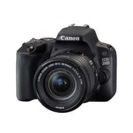 Canon EOS 200D w/EFS 18-55mm f/4-5.6 STM Lens Digital SLR Camera