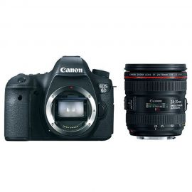 Canon EOS 6D w/ EF 24-70mm f/4L IS USM Lens Digital SLR Camera Enthusiast Kit