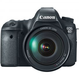 Canon EOS 6D w/ EF 24-105mm f3.5-5.6 IS STM Lens Digital SLR Camera