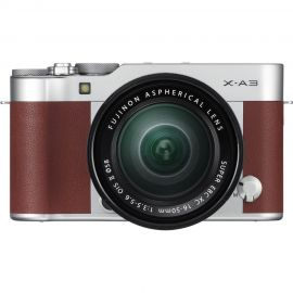 Fujifilm X-A3 Brown w/XC16-50mm Lens Compact System Camera