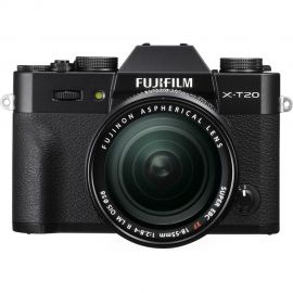 FujiFilm X-T20 Black Body w/ XF18-55mm Lens Compact System Camera