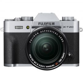 FujiFilm X-T20 Silver Body w/ XF18-55mm Lens Compact System Camera