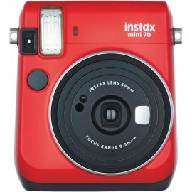 Fujifilm Instax Mini 70 Passion Red Instant Camera