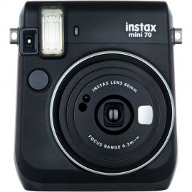 Fujifilm Instax Mini 70 Midnight Black Instant Camera