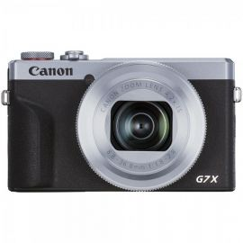 Canon PowerShot G7X Mark III Silver Camera