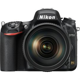Nikon D750 Body w/ AF-S 24- 120mm f/4G ED VR Lens Digital SLR Camera