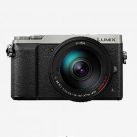 Panasonic GX85 w/14-140mm Lens Silver Compact System Camera