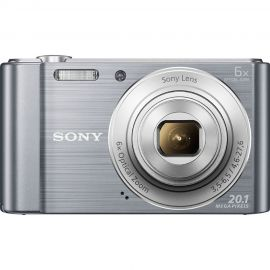Sony Cybershot DSCW810 Silver Digital Compact Camera