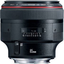 Canon EF 85mm f/1.2L II USM Telephoto Lens