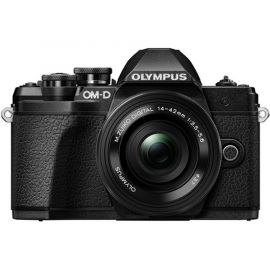 Olympus OM-D E-M10 Mark III Black w/14-42mm EZ Lens Compact System Camera