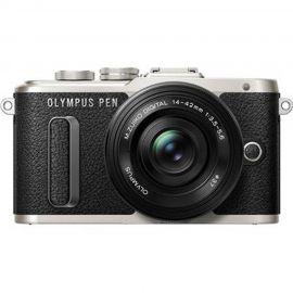 Olympus PEN E-PL8 w/14-42mm EZ Lens Black Compact System Camera