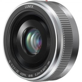 Panasonic Lumix G 20mm f/1.7 II ASPH Lens Silver