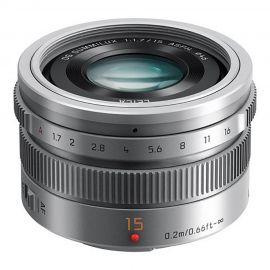 Panasonic Leica DG Summilux 15mm f/1.7 Lens Silver