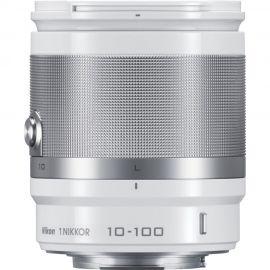 Nikon 1 Nikkor 10-100mm White f/4-5.6mm Telephoto Lens