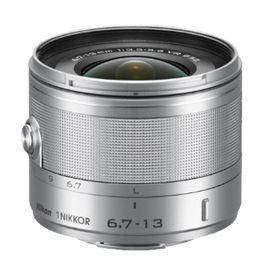 Nikon 1 Nikkor 6.7-13mm Silver f/3.5-5.6 VR Wide Angle Lens