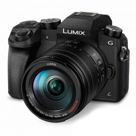 Panasonic Lumix G7 w/14-140mm f/3.5-5.6 Lens Black Compact System Camera
