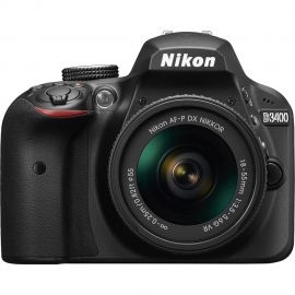 Nikon D3400 w/ AF-P DX 18-55mm f/3.5-5.6G VR Lens Digital SLR Camera