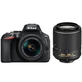 Nikon D5600 w/AF-P 18-55mm VR & AF-S DX 55-200mm f/4-5.6G ED VRII Lens Digital SLR Camera