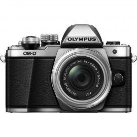Olympus OM-D E-M10 Mark II w/14-42mm EZ Lens Silver Compact System Camera