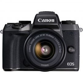 Canon EOS M5 w/EFM15-45mm f3.5-6.3 IS STM Compact System Camera