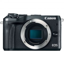 Canon EOS M6 Black Body Compact System Camera