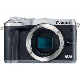 Canon EOS M6 Silver Body Compact System Camera