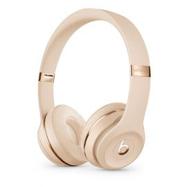 Beats Solo3 Wireless Headphones - Satin Gold