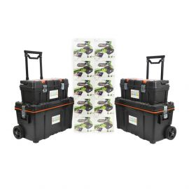 10 X Robobloq Qoopers 6 In 1 Robot With 2 Free Storage Kits