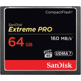 Sandisk Extreme Pro Compact Flash 64GB 160MB/s*