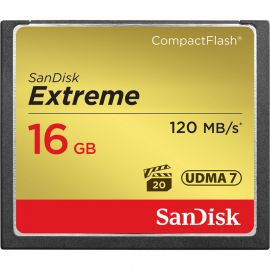 Sandisk Extreme Compact Flash 16GB 120MB/s*