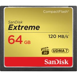 Sandisk Extreme Compact Flash 64GB 120MB/s*