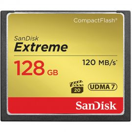 Sandisk Extreme Compact Flash 128GB 120MB/s*