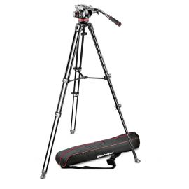 Manfrotto Tripod Alum Twin Leg - MVT502AM + MVH502A Head