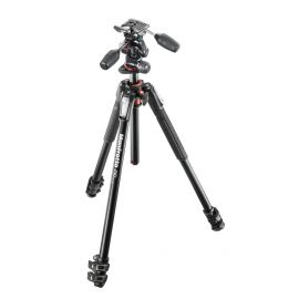 Manfrotto Tripod Kit 190 3sec Blk Alum
