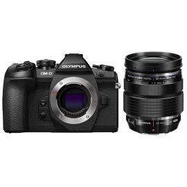 Olympus OM-D E-M1 Mark II Black w/12-40mm f/2.8 Pro Lens Compact System Camera