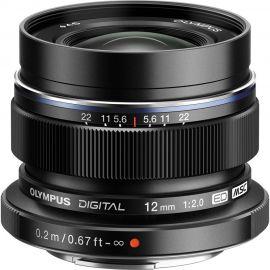 Olympus M.Zuiko 12mm f/2.0 Lens Black
