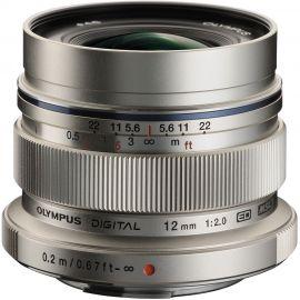 Olympus M.Zuiko 12mm f/2.0 Lens Silver