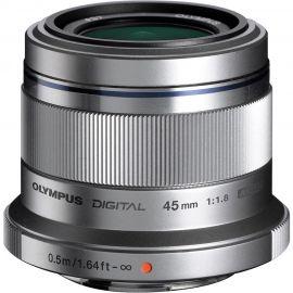 Olympus M.Zuiko 45mm f/1.8 Lens Silver