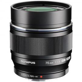 Olympus M.Zuiko 75mm f/1.8 Lens Black