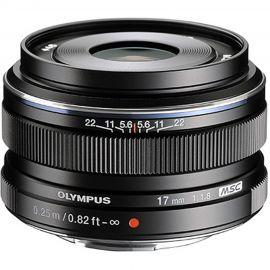 Olympus M.Zuiko 17mm f/1.8 Lens Black