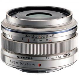 Olympus M.Zuiko 17mm f/1.8 Lens Silver