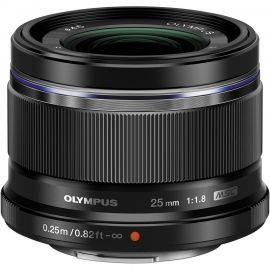 Olympus M.Zuiko 25mm f/1.8 Lens Black