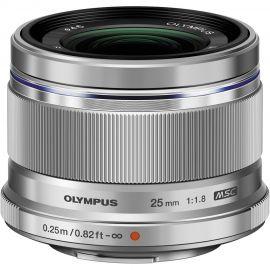 Olympus M.Zuiko 25mm f/1.8 Lens Silver