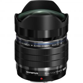 Olympus M.Zuiko 8mm f/1.8 Pro Fish-eye Lens
