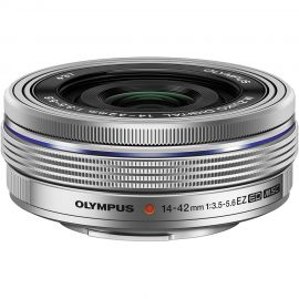 Olympus M.Zuiko 14-42mm f/3.5-5.6 III EZ Lens Silver