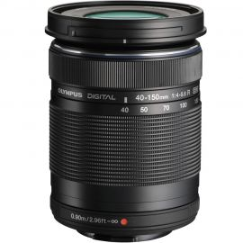 Olympus M.Zuiko 40-150mm f/4.0-5.6R Lens Black
